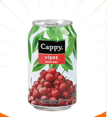Cappy Vişne 330 Ml